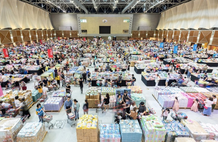 Big Bad Wolf Taiwan features 2 million books. (The Big Bad Wolf Book Sale photo)