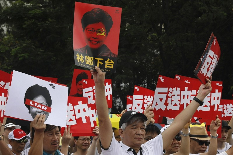 HK extradition law protest (AP)