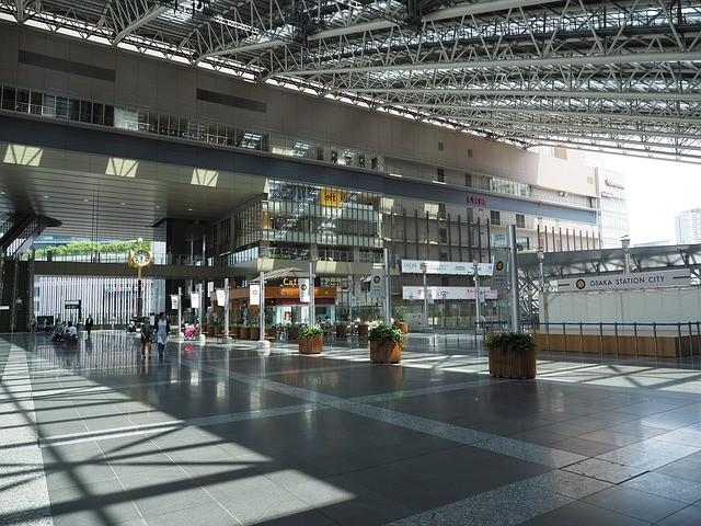 大阪站(圖/ pixabay)