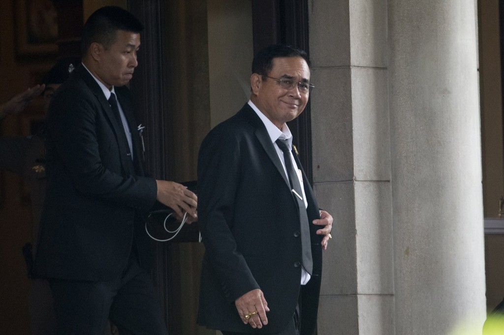 泰國新任總理帕拉育(Prayut Chan-o-cha)(圖/ 美聯社)