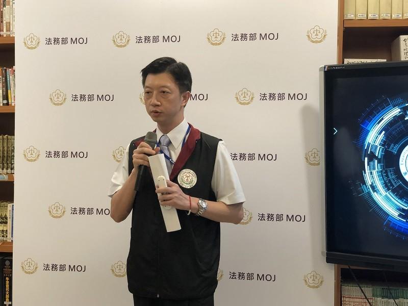 Lin Chun-yen (林俊彥), Forensic Serology Division chief at the IFM. (CNA photo)
