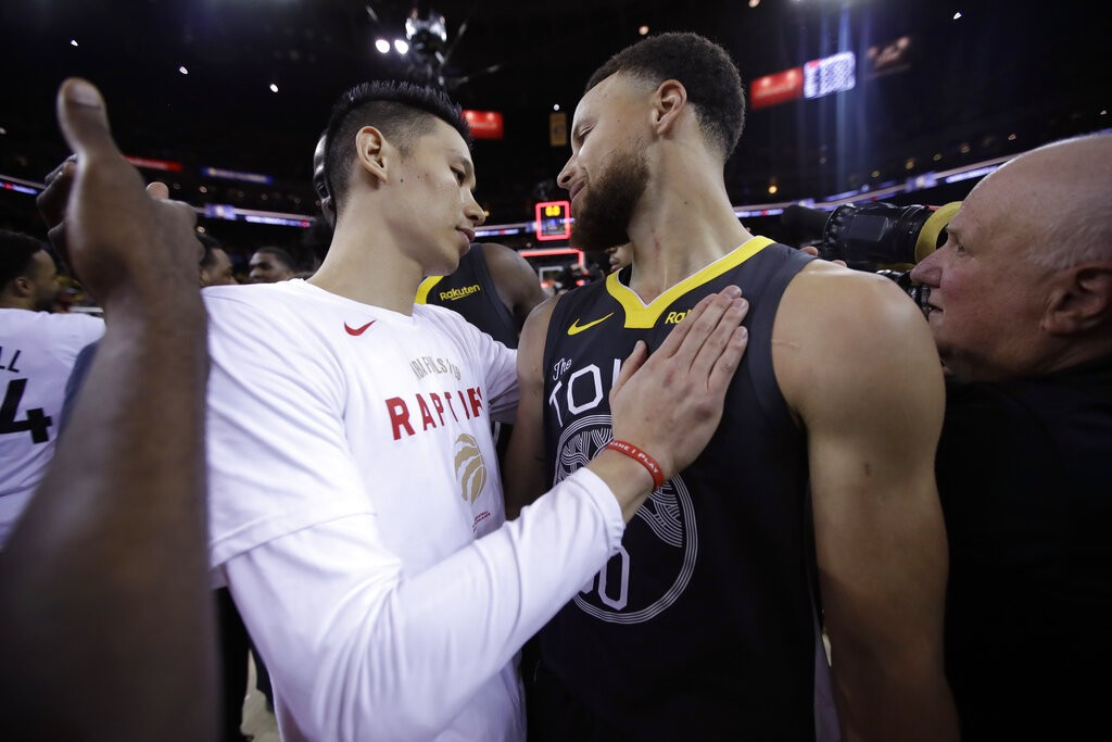 Jeremy Lin becomes first Taiwanese-American to win NBA championship
