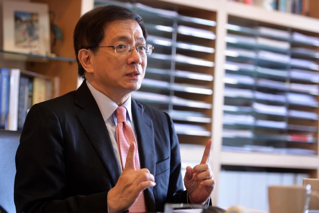 NTU President Kuan Chung-ming