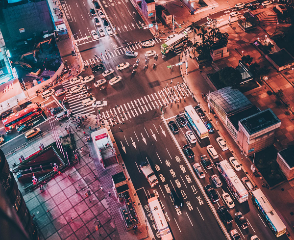 Taipei traffic (Photo by Unsplash user Tommy)