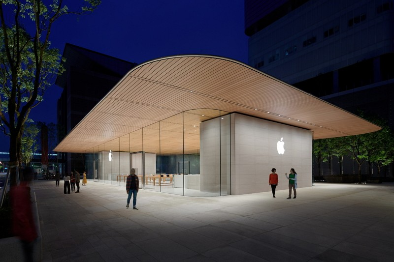 Apple Inc. opened its second store in Taiwan (Image/Taipei City Government)