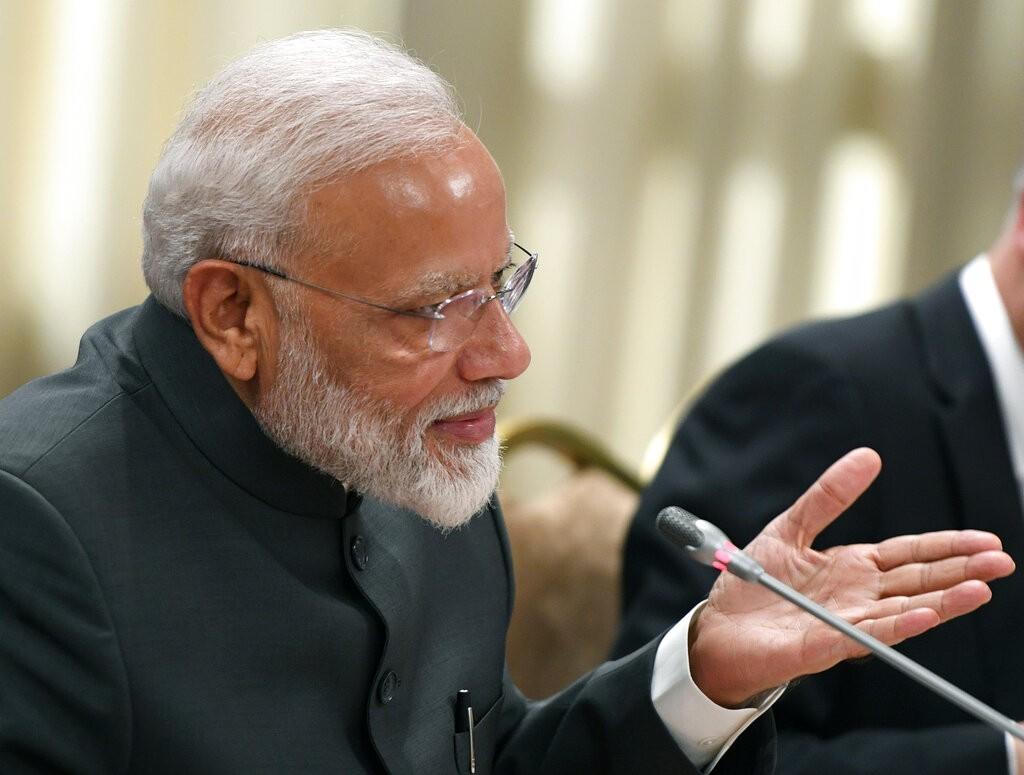 印度總理莫迪(Narendra Modi)(圖/ AP)
