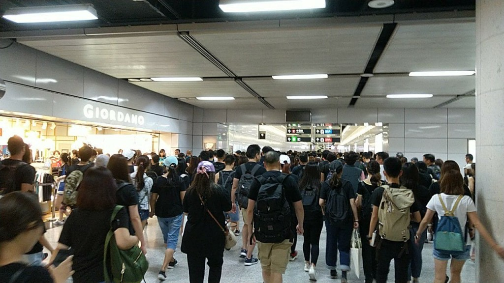 香港地鐵車站(來源 香港大學校園電視 Campus TV, HKUSU)