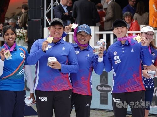 Taiwan bags world team title in women's compound archery