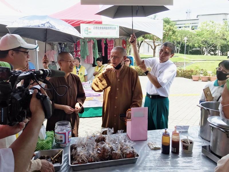 Chengte Charity Foundation organizes fun fair to help the needy (Photo/Chengte Charity Foundation)
