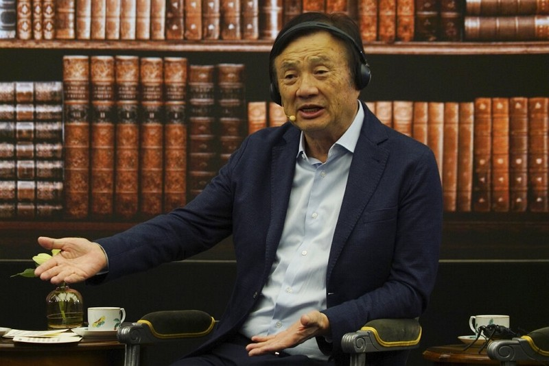 Ren Zhengfei, founder and CEO of Huawei (AP photo)