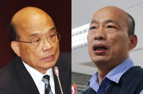 Su (left), Han (right).