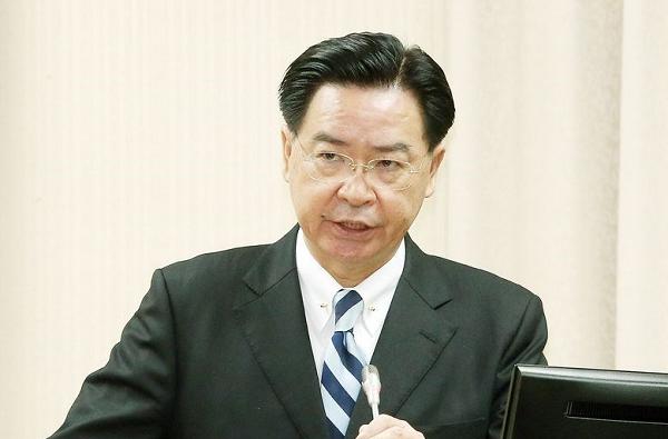 File photo: Foreign Minister Joseph Wu