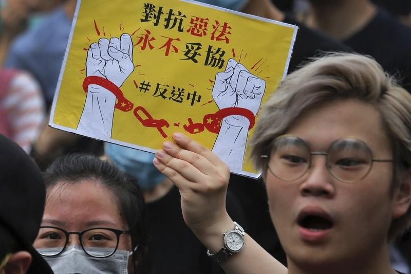 Hong Kong extradition bill protest