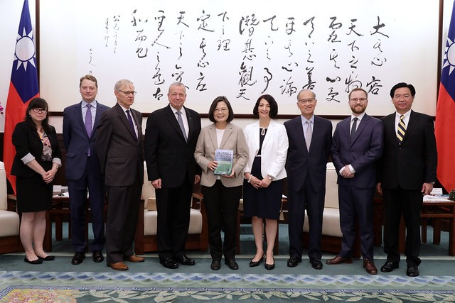President Tsai vows to strengthen Taiwan-US ties (Photo/Office of the President)