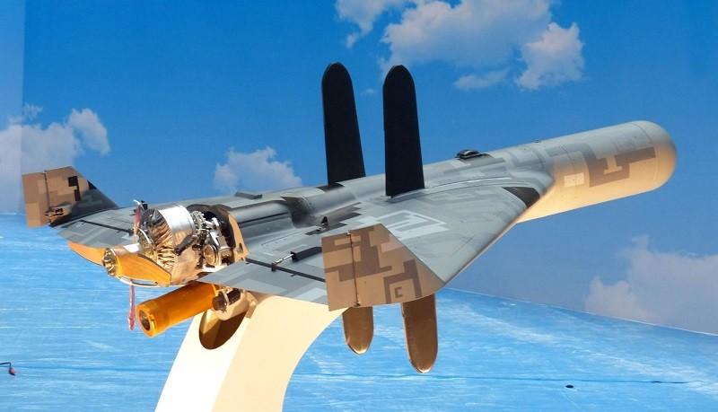 NCSIST-developed anti-radiation UAV.