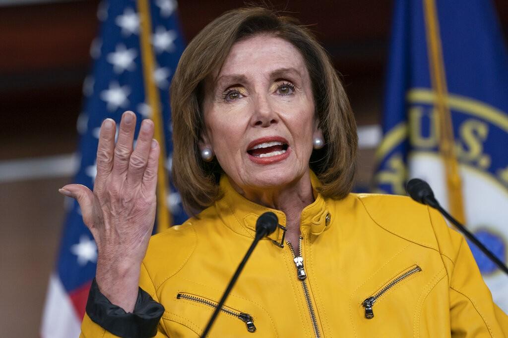 Nancy Pelosi (Source: AP)