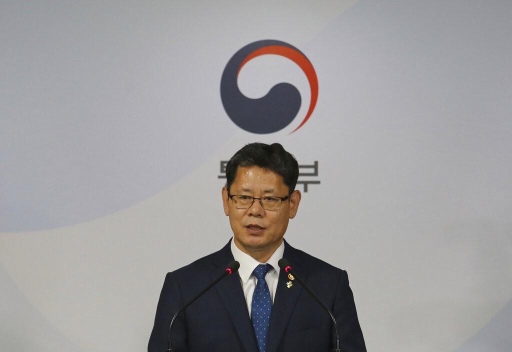 South Korean Unification Minister Kim Yeon-chul