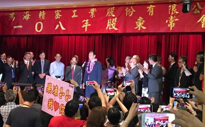 劉揚偉接任鴻海董事長 9人委員會領導「後郭台銘時代」