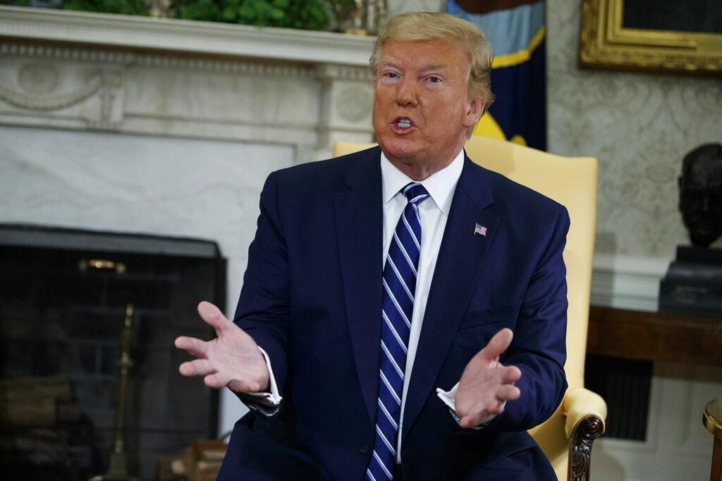 青瓦台:美國總統川普將與南韓總統文在寅舉行高峰會談(圖/美聯社))