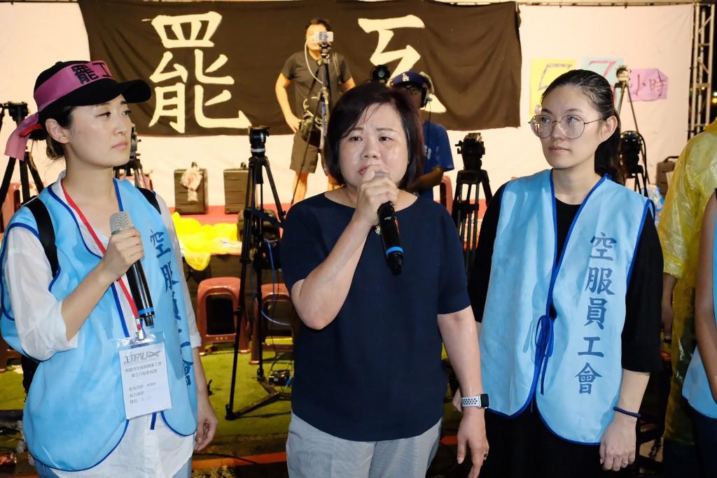 Labor Minister Hsu Ming-chun