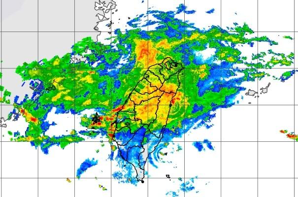 CWB radar map.