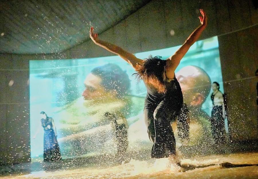 雲門2以及蔡明亮合作推出舞作「海市蜃樓」(圖/雲門2)