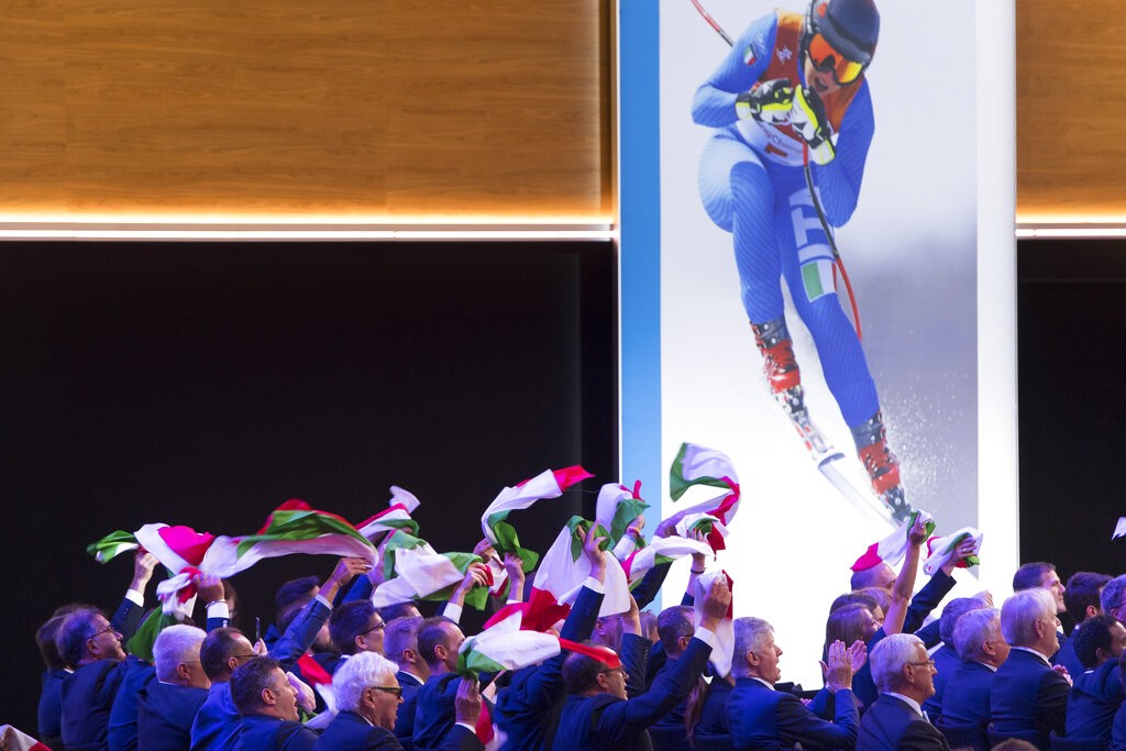 2026冬奧主辦權 義大利米蘭奪下