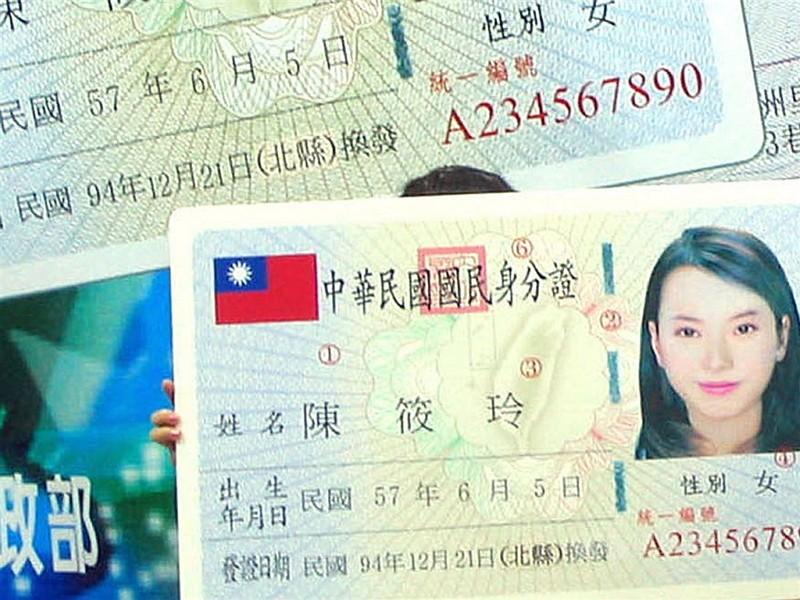 ID card file photo