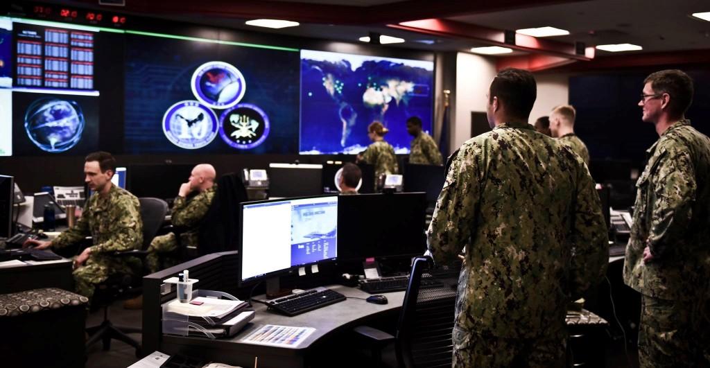 US 10th Fleet Cyber Command Center (US Navy photo)