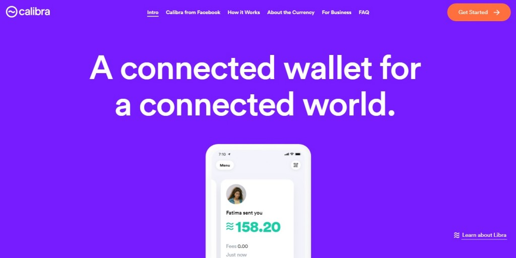 Phishing site looks almost identical to Libra's official website