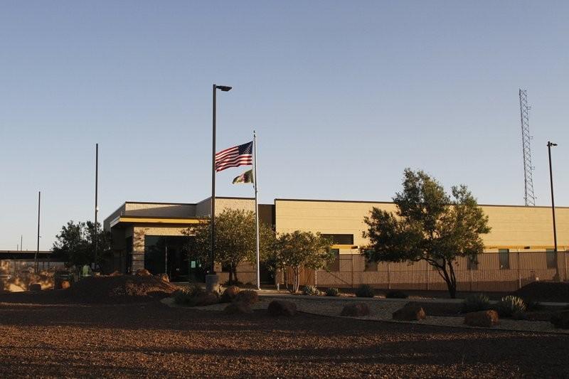 Border Patrol station in Clint, Texas