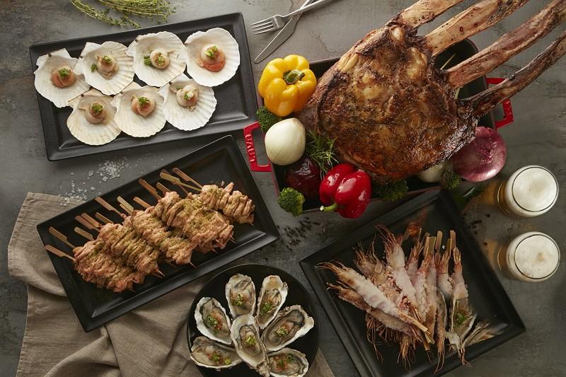 台北國泰萬怡酒店MJ Kitchen 自助餐廳7月1日起推出夏日燒烤宴