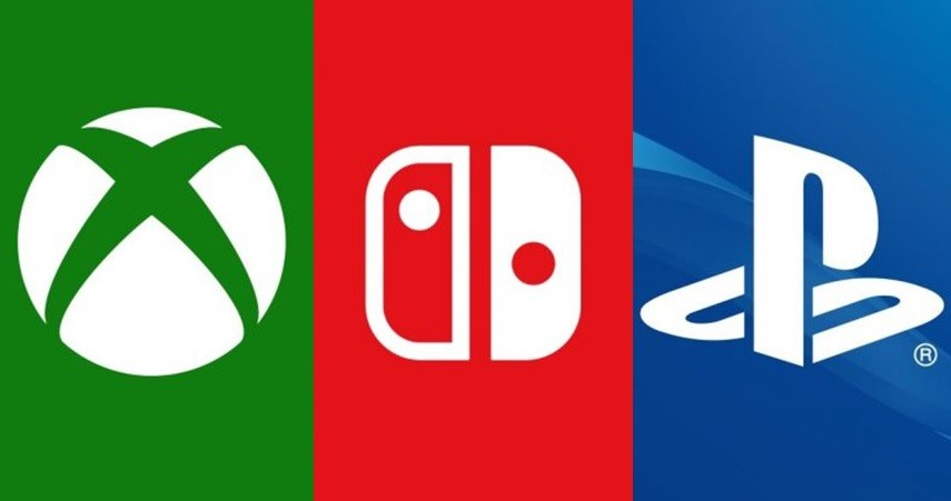 微軟(Xbox)、任天堂(Switch)、SONY(Playstation)