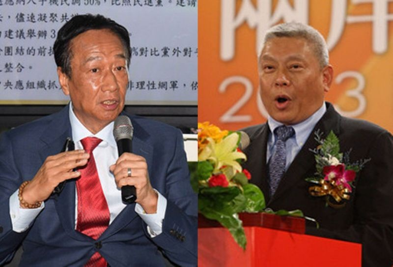 Gou (left), Tsai (right).