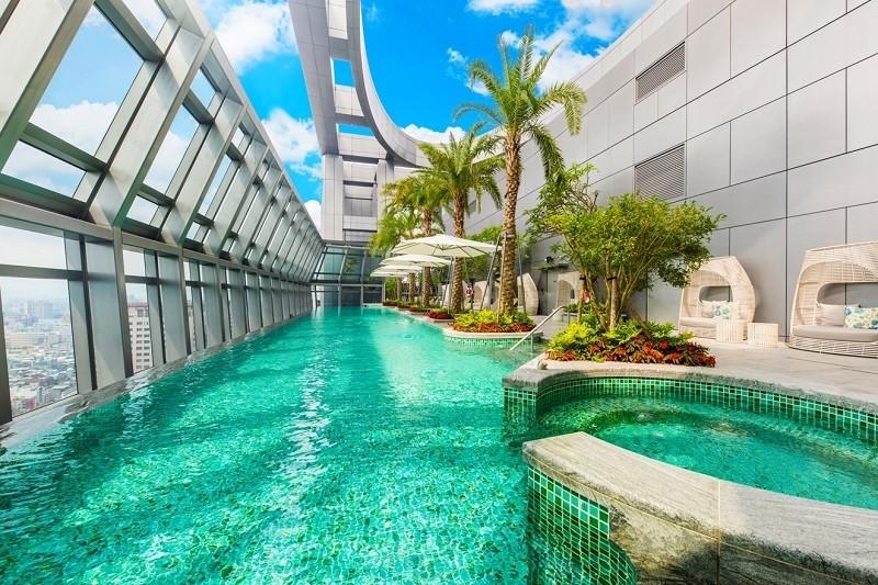 板橋凱撒 今夏最夯都市親子遊 寶貝老闆我最大住房專案