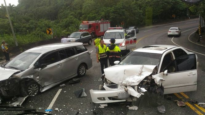 An average of 5,000 foreign citizens per year are involved in traffic accidents in Taiwan