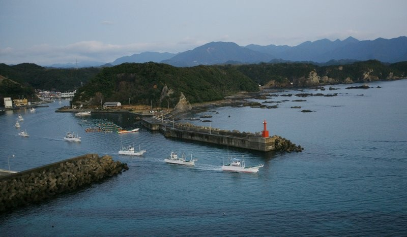 Taiji-cho, a Japanese town known for whaling and dolphin hunting