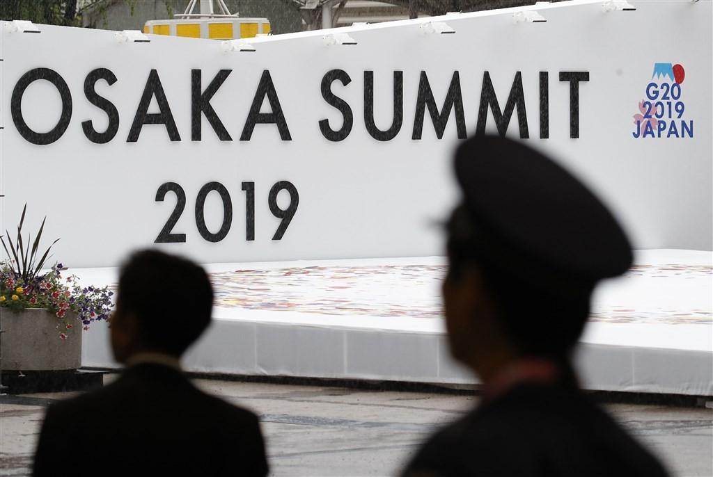 20國集團(G20)領袖高峰會28至29日將在日本大阪登場,由日本首相安倍晉三主持。(共同社提供)