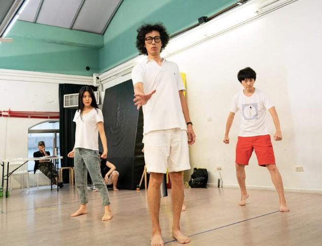 音樂喜劇「西哈遊記-魔二代再起」演員,左起:劉艾立、馬念先、姚小民(圖/主辦單位)