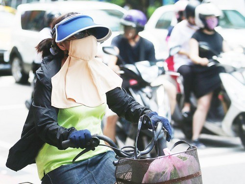 High temperature warning issued for parts of Taiwan