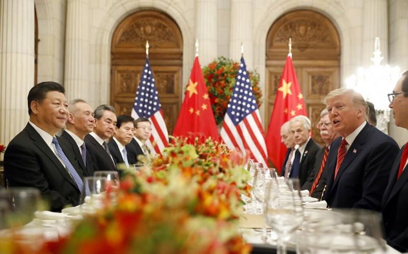 Donald Trump and Xi Jinping meet at G20