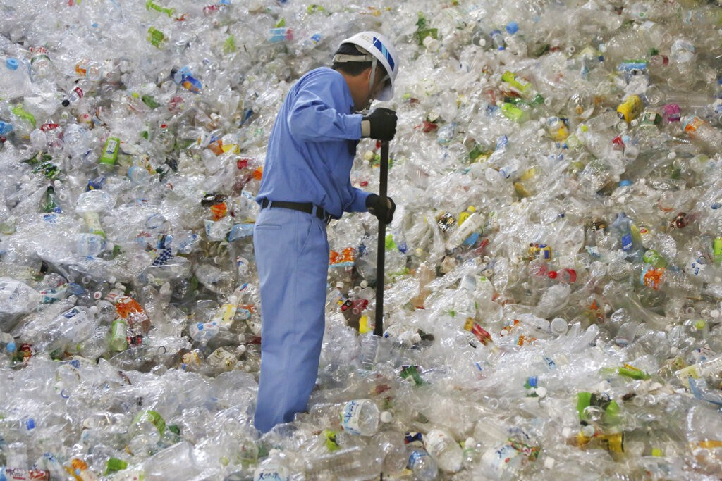 Increasing plastic waste from developed nations