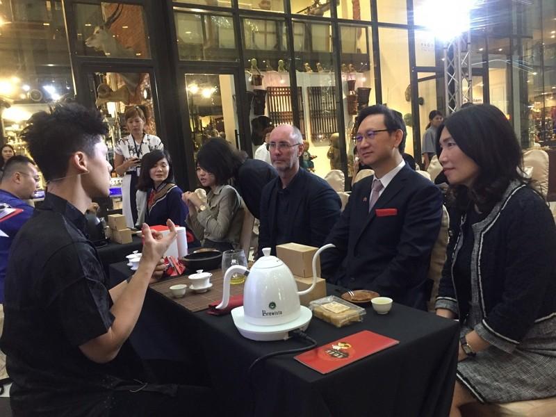 台灣頂級工藝曼谷開展(圖/駐泰台北經濟文化辦事處)