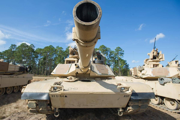 M1A2 Abrams tank (Photo from Military.com)