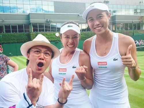 Chan Sisters at Wimbledon
