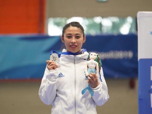 Taiwanese taekwondo athlete Su Chia-en /photo from facebook.com/CTUSFSSU