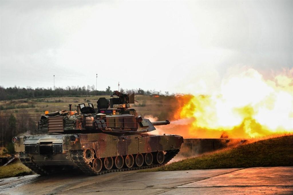 M1A2坦克(照片來源:美國國防部 https://bit.ly/32ePCK5)