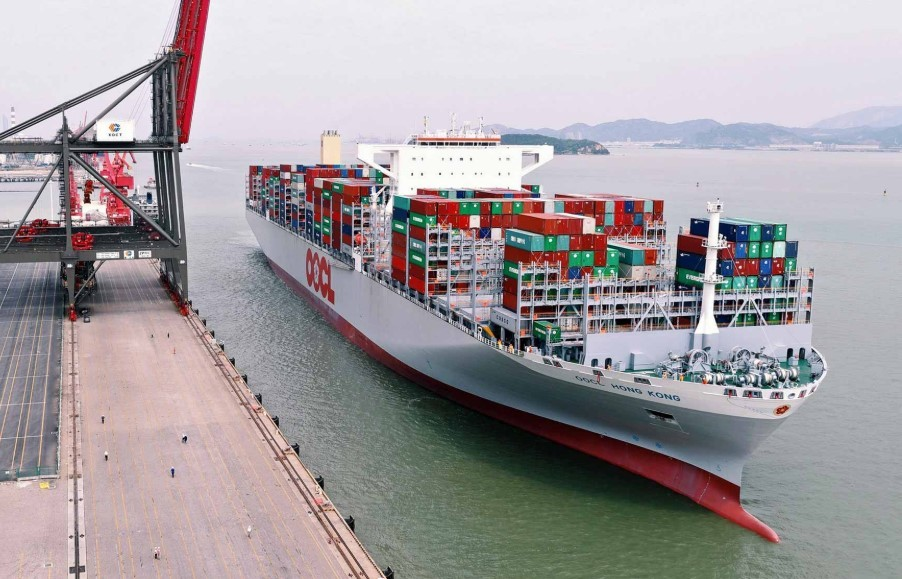 OOCL container ship (OOCL photo)