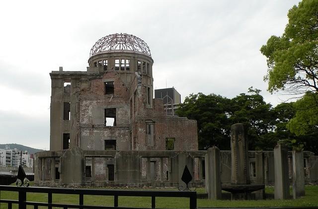 廣島原爆圓頂館,位於和平記念公園(來源 pixabay)