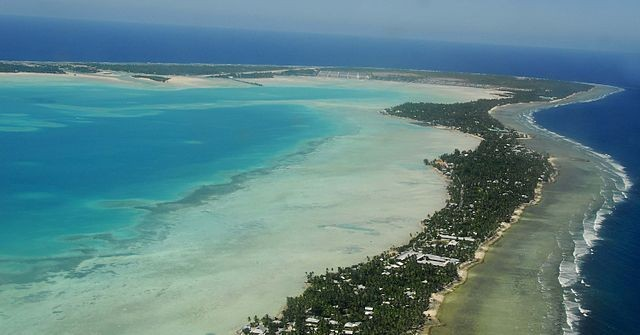 Tarawa Atoll, Kiribati (Source: government of Kiribati)
